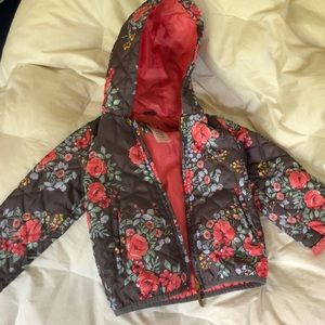 Cute Floral Jacket Girls 2T